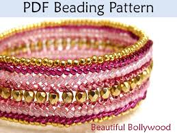 bracelet beads pattern images Beaded beads beading pattern tutorial beaded chain necklace 37263