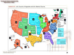 federal circuit court map chapter 3 the court system 2 chapter objectives 1