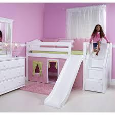 girls twin loft bed with slide girls loft bed with slide vnproweb decoration