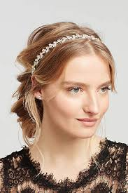 silver headband bridal wedding headbands david s bridal