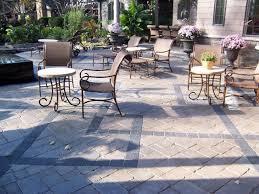 paver designs for backyard concrete paver patios the concrete