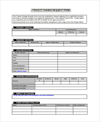 project request form project change request form sample change