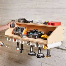 build a charging station do it yourself drill dock organizer u2014 the family handyman