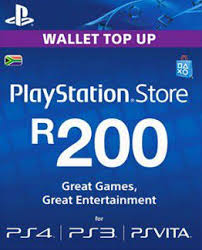 ps4 gift card sony playstation playstation network card r200 ps3 psp ps vita ps4