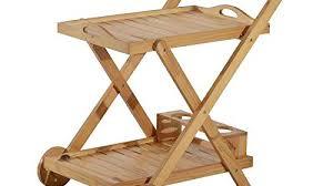 origami folding kitchen island cart folding kitchen island wooden rolling kitchen cart with 3 bottles