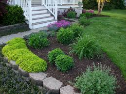 Front Garden Bed Ideas Front Yard Outstanding Front Yard Garden Ideas Picture