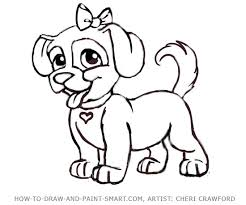 clifford coloring pages draw a dog cartoon puppy drawing 9 for clifford coloring pages