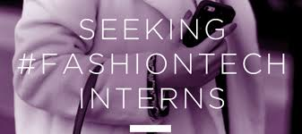 Seeking Nyc Seeking Fashion Tech Interns In Nyc Third Wave Fashion