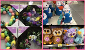 wal mart easter decor and toys