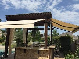 Outdoor Retractable Awnings Excel Awning U0026 Shade Retractable Awnings