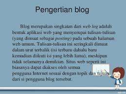 cara membuat blog tulisan power point cara membuat blog