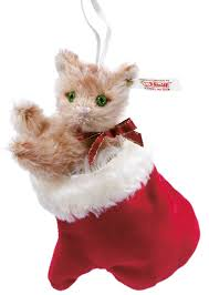 kitten in a mitten steiff ornament