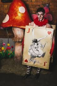 alice wonderland characters hire london