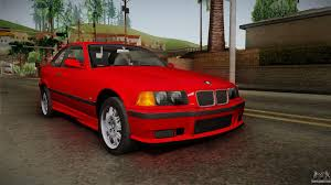 red bmw 328i bmw 328i e36 coupe for gta san andreas