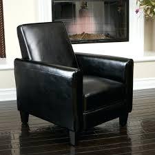 sleek recliner black faux leather swivel rocker recliner ergonomic ingall swivel
