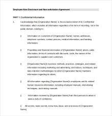 employee agreement templates u2013 11 free word pdf document