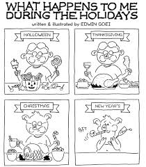 horror stories comic what happens to me during the holidays