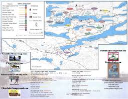 Lake Maps Mn Golden Eagle Lodge Minnesota Resort Gunflint Trail Grand