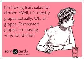 Fruit Salad For Dinner Meme - ecard im having fruit salad for dinner