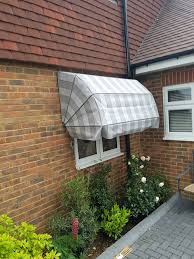 Dutch Awnings Triple Installation Of Awnings Dutch Canopy And Pleated Blinds