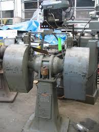 Old Bench Grinder Bench U0026 Pedestal Grinder Buffer Industrial Machinery Machine