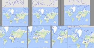 World Map Actual Size Greenland U0027s Size In Mercator Projection Vs Actual Size 489x290