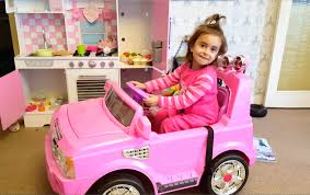 pink toddler car kids kitchen playset pink kids car ride youtube