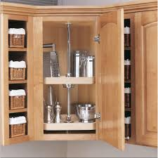 How To Make A Lazy Susan For A Kitchen Cabinet Rev A Shelf 35 In H X 20 In W X 20 In D Wood 3 Shelf D Shape