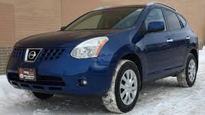 black nissan rogue interior 2010 nissan rogue sl awd sunroof heated seats automatic youtube