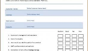form templates in word ms word printable customer feedback form