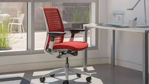 Ergonomic Armchair Think Ergonomic U0026 Adjustable Office Chair Steelcase