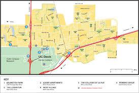 davis map uc davis housing sha locations map
