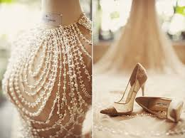 wedding shoes bandung a breathtaking pearl embroidered gown for a chagne
