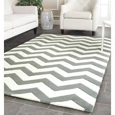 Chevron Area Rug Cheap Wrought Studio Wilkin Tufted Wool Gray Ivory Chevron