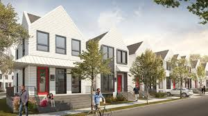 dozens of new single family homes on the way to irving park