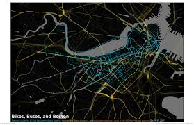 Mbta Map Boston by Mbta Boston Bikes Visualization Bostonography