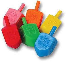 buy dreidel the dreidel colored plastic dreidels medium 50