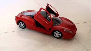 remote control car lights kids ferrari remote control ride and unboxing lighting car with