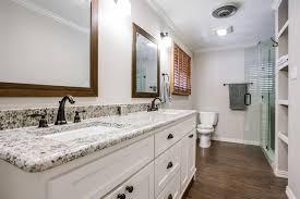 Kitchen Cabinets Dallas White Kitchen Cabinets And Dark Flooring Enchanting Home Design