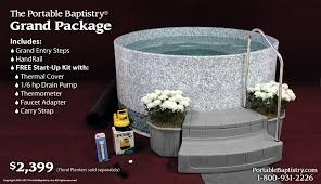 portable baptismal pools portable baptistry grand package church baptistry baptistery