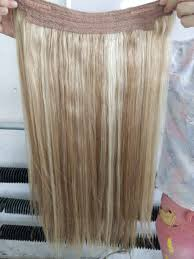 Hair Extension Clips by Double Drawn Indian Remy Hair No Clips Halo Flip In Hair Extension