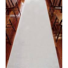 Wedding Aisle Runner Weddingstar 9299 Wedding Aisle Runner Plain White 33g Non Woven