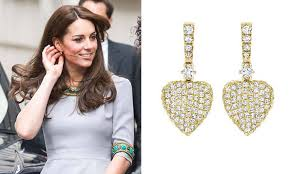 kate middleton diamond earrings kate middleton recycles exact from 2012 and adds 3 300