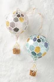 anthropologie s arrivals ornaments air balloons