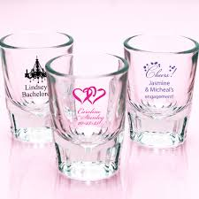 cheap personalized wedding favors personalized barcraft glasses exclusive personalized