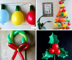 X Large Christmas Decorations by 12 Christmas Balloons Decorations Diy Christmas Decorations