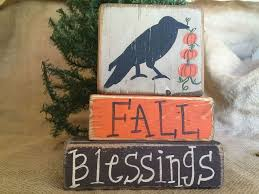 37 best thanksgiving handcrafted primitive shelf sitter wood block