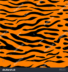 tiled halloween background tiger stripe seamless background which can stock illustration