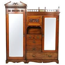 Door Armoire Wardrobes Giotto 3 Door Armoire 3 Door Armoire Wardrobe Mahogany