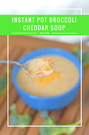 instant pot broccoli cheddar soup recipe honest and truly